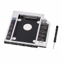 ssd dizüstü bilgisayar sabit diskleri toptan satış-Yeni Sabit Disk Caddy Seri ATA Sabit Disk Disk HDD SSD Adaptörü Caddy Tepsi PC Dizüstü Bilgisayar için