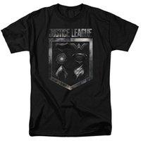 film amblemi toptan satış-Yeni Adalet League Film AMBLEMLERININ KALKINLI Yetişkin T-Shirt Tüm Boyutları