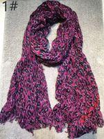 Wholesale Leopard Pashmina Scarf - Big sale Autumn and winter classic print leopard pattern cotton material creasing Ms. Scarf big size 200cm * 130cm