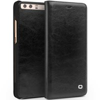 Wholesale Huawei Flip Case - B01 Ultra slim good quality megnetic leather case for Huawei P10,flip cover with card slot for huawei p10