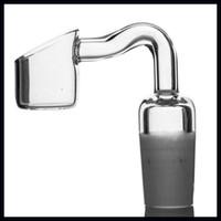 anfang großhandel-Quarz Nagel ST-757 Quarz Banger 14mm 18mm männliches Gelenk für Ölplattform Wasserleitung Bongs 100% echten Quarz