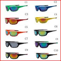Wholesale sunglasses screws resale online - brand designer Screw Under Mens Sport Sunglasses oculos cycling sunglasses de sol feminino gafas women Goggle Fishing Glasses