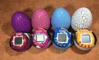 Wholesale games sounds - 2018 hot Tamagotchi Tumbler Toy Perfect For Children Birthday Gift Dinosaur Egg Virtual Pets on a Keychain Digital Pet Electronic Game