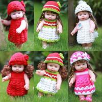 ingrosso giocattoli della bambola vivaci del bambino-30cm Reborn Baby Doll Morbido vinile Silicone realistica Alive Neonati Giocattoli per bambini ragazze compleanno regalo Chirstmas