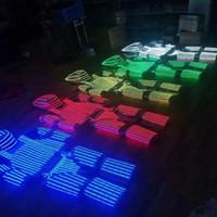 robot de ropa ligera al por mayor-Moda LED Luminous Robot Suit Growing Light Up traje de armadura con casco Led para discotecas fiesta DJ baile ropa