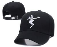049d3e84f649d Trucker Hat Skull Snapback hip hop mesh back street baseball caps hats  Gothic hat
