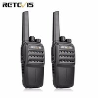 Wholesale Dmr Digital Radios - 2pcs Retevis RT40 FRS PMR446 DMR Tier I 0.5W Licence-free Digital Analog Two Way Radio Walkie Talkie Hf Transceiver