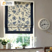 Wholesale vertical blinds fabrics - Louver 2016 New Arrival Roman Blinds Lift Anode-screening Fashion Curtain Professional Customize Rollers Shutter free Shipping