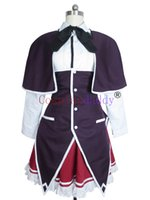 ingrosso costumi halloween high school-Costume cosplay di alta scuola DxD Rias Gremory Halloween Dress Dress Suit