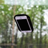 siyah büyü telefonu toptan satış-Araba Ani Kayma Mat Siyah Silika Jel Sihirli Sabit Pad Araba Dashboard Cep Telefonu için kaymaz ped, Güneş Gözlüğü, MP3 çalar, Kalem, Paraları