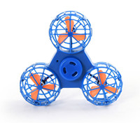 Wholesale usb dice - Fidget Flying Spinner Chargeable Fly Back Finger Dice USB Charging Gyroscope Anti-Stress Release Toys DHL Free