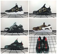 Wholesale new brand high quality cotton woman for sale - 2018 New Huaraches Running Shoes For Men Women High Quality Huarache Famous Brand huraches Custom Designer Sport Sneakers
