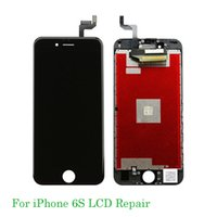 Wholesale full lcd screen phone resale online - Cell Phone Touch Panel For iphone s Repair LCD Complete Screen with Frame Full Assembly Replacement for iphone lcd