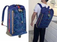 Wholesale punk studded - 2018 Top quality OUTDOOR New Brand Designer Stark Backpack Studded Visetos punk women men backpack school bag Duffel Bags M43834