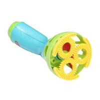 kinder blasen blasen großhandel-Lustige Elektrische Bubble Gun Spielzeug Bubble Machine Wasserpistole Outdoor Kinder Blasen Kinder Spielzeug