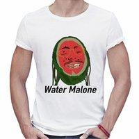 Wholesale post music - Men Summer Fitness T-shirt Post Malone Design Shirts Fashion Rap Music Tees Punk Printing Shirts Short Sleeve T Shirt.