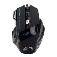 melhor jogo de preço venda por atacado-Melhor Preço Promoção 3200 DPI LED Óptico 7D USB Wired Gaming Jogo Mouse Pro Gamer Computador Ratos Para PC de Alta Qualidade
