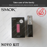 Wholesale smok e cig kit for sale - Group buy Original SMOK Novo Pod Starter Kit mAh Portable Vape E Cig Kit with ml Original