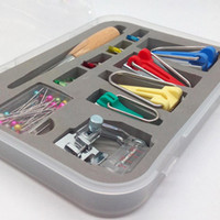 Wholesale binding set - Machine Tools Binding Sew Multifunction Sewing Bias Tape Maker Set DIY Patchwork Quilting Tool