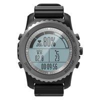 wasserdichte höhenmesseruhr großhandel-2018 Original-S68 GPS Sport Smart Watch Wasserdicht Schlaf Herzfrequenzmesser Thermometer Altimeter Pedometer GPS Smartwatch Männer