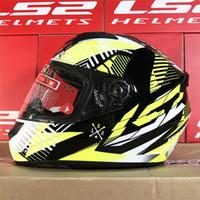 Wholesale ls2 helmet size l resale online - Motorcycle Helmets Full Face Casque Moto Capacetes de Motociclista LS2 Helmets Size M L XL XXL