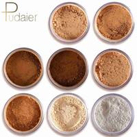 Wholesale beauty control cosmetics resale online - Pudaier Color Banana Powder Makeup Loose Powder Smooth Transparent Face Powder Foundation Concealer Beauty Cosmetics maquiagem