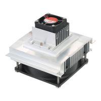 gummiboden verkauf großhandel-E2486 DIY Thermoelektrische Peltier Refrigeration Heizkörper Halbleiter Kühlsystem Kit Kühler Lepsi Vodivost