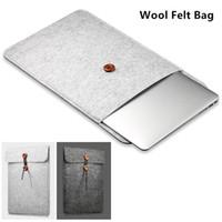 Wholesale laptops 11.6 online - 2018 Felt Sleeve Case For MacBook Laptop Air Pro For Ipad mini For kindle