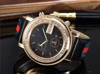 marcas de relojes de señora vintage al por mayor-Marca Señoras Reloj Hombres Correa de Cuero Amantes Casuales Relojes Reloj de pulsera de Cuarzo Reloj de Mujer Reloj Relogio