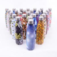 ingrosso calde tazze-Bottiglie d'acqua in acciaio inox Unicorno Unicornio con coperchio a forma di Cola Emoji Cup antiscivolo ufficio vendita calda 18 5zx V