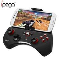 controlador inalámbrico para ipad al por mayor-1 unids gamepad inalámbrico iPega PG-9025 9025 Controlador de juegos Bluetooth Joystick para iPhone iPad Proyector CAJA de TV teléfonos Android PC