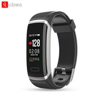 bracelete de escalada venda por atacado-Rate Monitor KOBWA GT101 inteligente Pulseira de Fitness Rastreador Heart Monitor sono Activity Tracker para Correndo escalada esportiva