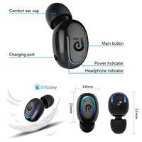 bluetooth stero toptan satış-Yeni Mini küçük V4.0 kulak Kablosuz Bluetooth Kulaklıklar yüksek kalite Stero iphone 6 samsung galaxy s6 için bluetooth kulaklık LG