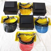 Wholesale colorful plastic sunglasses - Top Quality Luxury Brand Cap Sunglasses Women Men Hat For Unisex Colorful Cap Outdoor UV Protection Lens Carbon Fiber Legs With Brand BOX