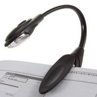 kostenloses buch lesen großhandel-Mini flexibler Klipp auf Klipp-auf heller Buch-Licht-Buchlicht-Laptop LED Buch-Leselicht-Lampe für zünden Sie E-Buch DHL FEDEX EMS an FREIES VERSCHIFFEN