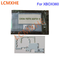 novo slim xbox venda por atacado-Nova CPU CORONA adaptador postfix v2 para xbox 360 xbox360 adaptador slim OEM de alta qualidade frete grátis