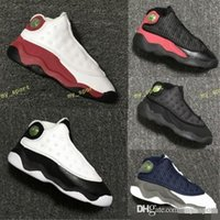 Wholesale toddlers boy shoes cheap - 2018 Children's 13 XIII Basketball Shoes Kids Cheap 13s Sports Boys Girls Youths Little Baby Athletic Sports Sneakers Toddlers Shoes 2
