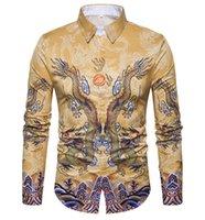 camisa de negocios de hierro al por mayor-Camisas para hombres Social 2018 Marca Spring Formal Non Iron Camisa de vestir Solid Long Sleeve Business Fashion Camisas para hombreL