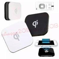 usb charging port galaxy s3 venda por atacado-Qi sem fio carregador de carga pad com 2 porta usb para samsung galaxy s3 s4 s6 s7 borda para nota 2 3 4 para iphone 5 6 7