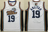 Wholesale sports fans team for sale - Group buy 1996 MTV Rock N Jock Aaliyah Bricklayers Jerseys Cheap White Team Basketball Aaliyah Jersey Men Breathable For Sport Fans Top Quality