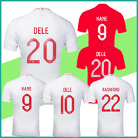 Wholesale new england football jersey - new England jersey 2018 World Cup away 3RD England soccer Jersey KANE DIER RASHFORD STERLING DELE VARDY 2019 Football shirt customize S-2XL
