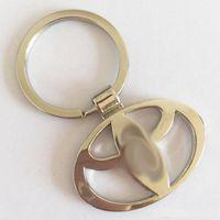 Wholesale Vw Chain - 3D Metal Car Logo Keychain Key Chain Keyring Key Ring For Volkswagen VW Volvo Toyota Nissan Ford