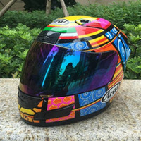 Wholesale Open Face Helmet Dot - Motorcycle ARAI Helmet Fashion Design Full Face Racing Helmets ECE DOT Approved Capacete Casco Casque Moto