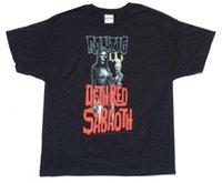 ingrosso candelabri neri-Danzig Candelabra Deth Red Sabaoth Maglietta nera Nuovo Official Licensed Evilive Mens 2018 fashion Brand T Shirt O-Collo 100% cotone