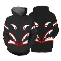 пуловер с длинным рукавом оптовых-Drop Shipping Anime Tokyo Ghoul Hoodies 3D Printed Mens Womens Pullover Winter Warm Hooded Long Sleeve Sweatshirt For Adults