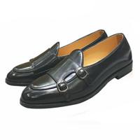 cinturón de zapatos de boda al por mayor-Diseñador de la vendimia Hombres colores mezclados Zapatos Zapatos Loafer Hombre Homecom Prom Vestido de boda zapatos mocasines Sapato Social Masculino