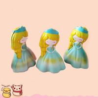 Wholesale Foam Safe - Creative PU Slow Rebound Toys Cute Simulation Princess Shape Squishy Cartoon Vivid Foam Squishies High Quality 15ck B