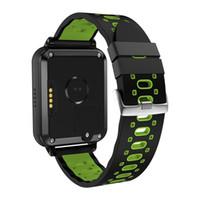 quad core smart watch großhandel-Finow Q1 Pro 4G Smart Uhr Android 6.0 MTK6737 Quad Core 1 GB / 8 GB SmartWatch Telefon Herzfrequenz Sim-Karte Unterstützung Wechselriemen