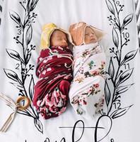 photos fraîches achat en gros de-Draps de lit d'impression Nordic Style feuille de literie fraîche noir et blanc pour bébé décoration photo de tir