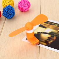 usb-otg-fan großhandel-VGRBY 5Pin Micro-USB-Lüfter Tragbarer, flexibler Lüfter Mini-Super-Mute-USB-Kühler Benötigen Sie Unterstützung zur OTG-Verwendung